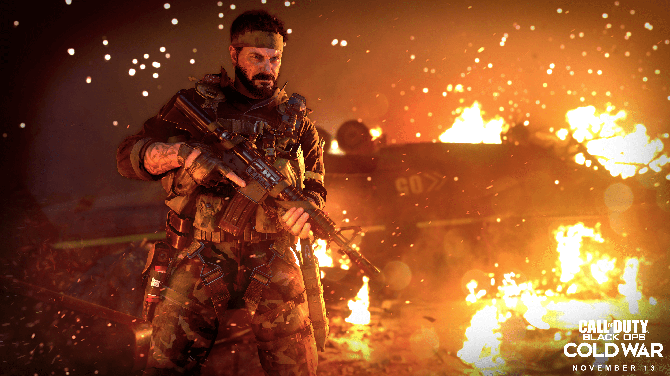 """Black Ops Cold War"" broke sales records during its debut."