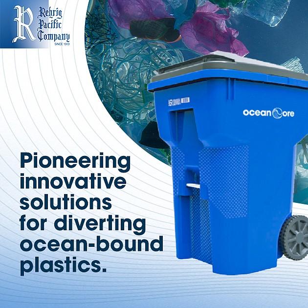 Rehrig offers ocean plastics recovery.