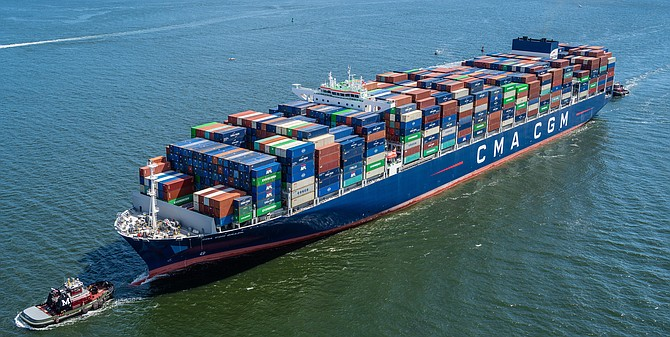 CMA CGM acquired APL in 2016 but continued using APL's name.