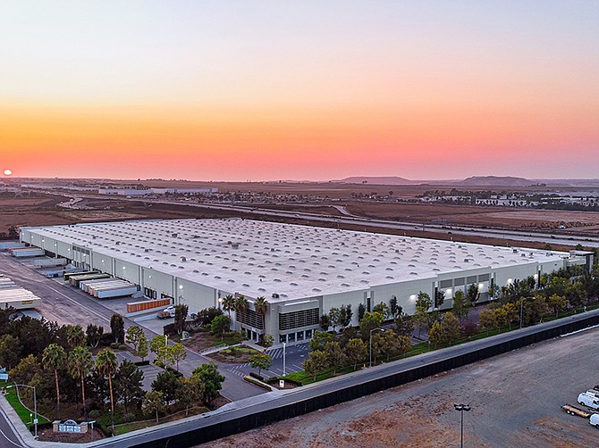 Photo courtesy of Cushman & Wakefield. One of the largest industrial buildings in San Diego County was recently sold in the fast growing submarket of Otay Mesa.
