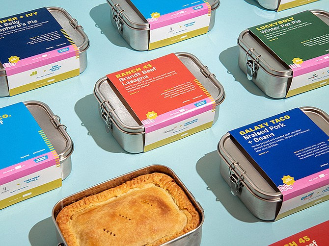 Photo courtesy of In Good Company. In Good Company, a company that delivers frozen, local chef-created meals in reusable packaging, launched earlier this month.
