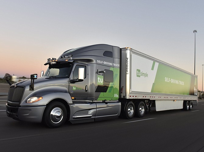 Photo courtesy of TuSimple. To date, the company has raised $648 million in funding, making it one of the top autonomous vehicle startups in the U.S., in terms of cash.