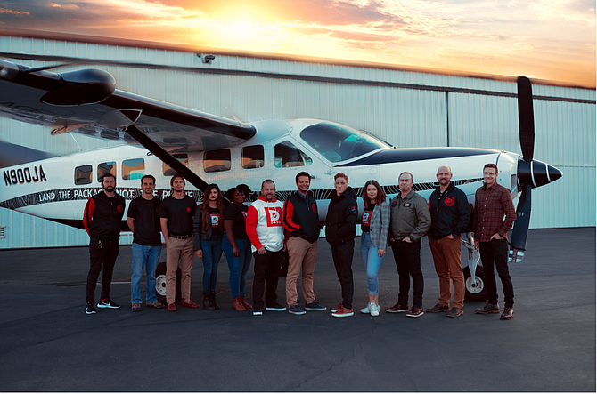 Hawthorne-based DASH will use the funding to expand aerial shipping to rural areas.