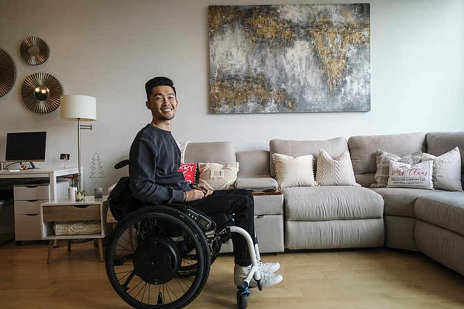 Anthony Zhang left USC to focus on his first business.