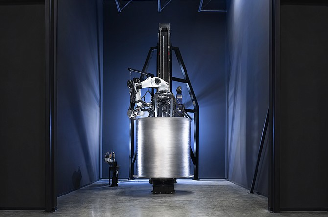 Relativity's 3D printer.