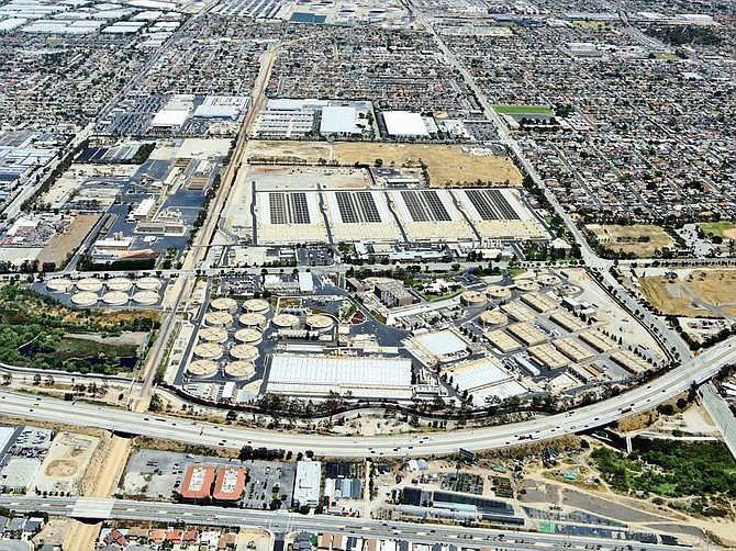 AECOM will retrofit the Joint Water Pollution Control Plant in Carson.