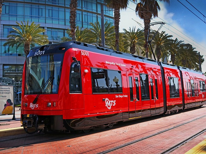 Photo courtesy of San Diego Metropolitan Transit System. The six-year agreement includes two two-year options that could bring the total value of the contract to $911 million over 10 years. The largest single contract in MTS history.