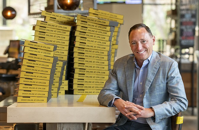 CPK Chief Financial Officer Judd Tirnauer is looking to expand.