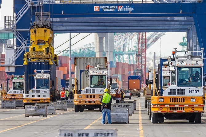 Local ports will benefit from new funds.