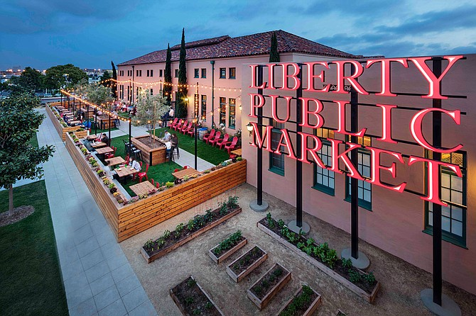 Photo courtesy of Liberty Station. Liberty Station, located in Point Loma, continues to see a surge in new openings despite the COVID-19 pandemic.
