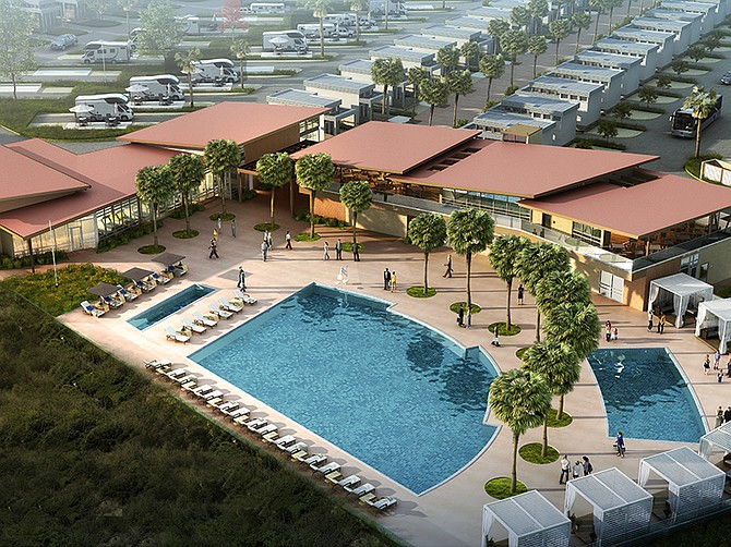 Rendering Courtesy of Costa Vista RV. Costa Vista RV, part of the Port of San Diego and the City of Chula Vista's Bayfront Master Plan, is now 75% complete.