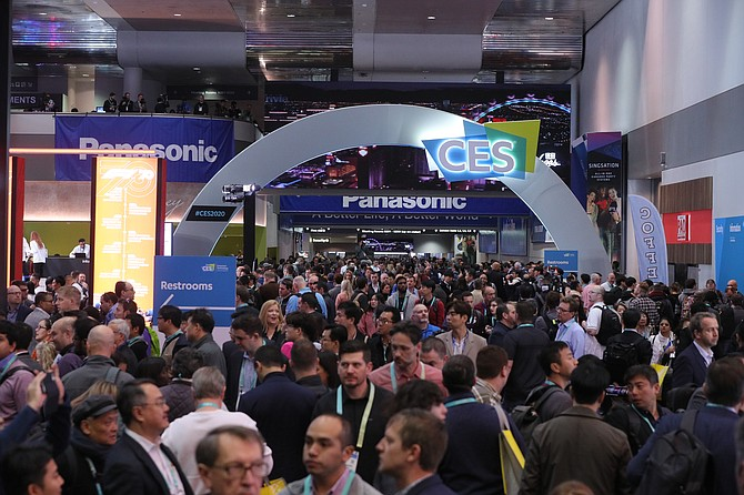 No long lines this year, but CES expects more than 1,000 exhibitors to participate in its virtual event.