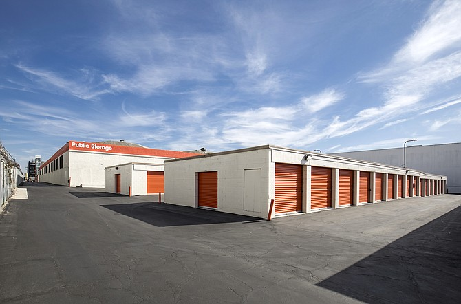 The La Cienega Boulevard site is occupied by 1,000 storage units.