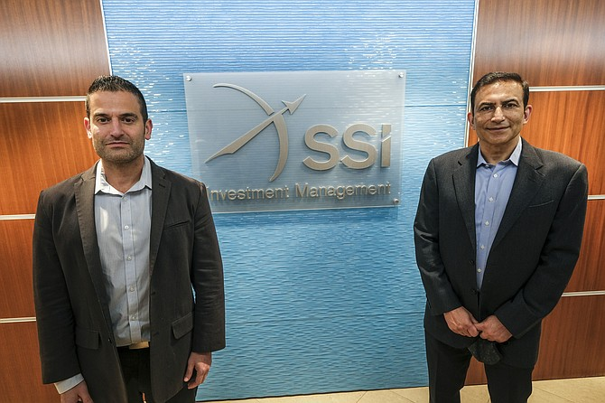 Ravi Malik and Stephen Wachtel of SSI Investment Management.