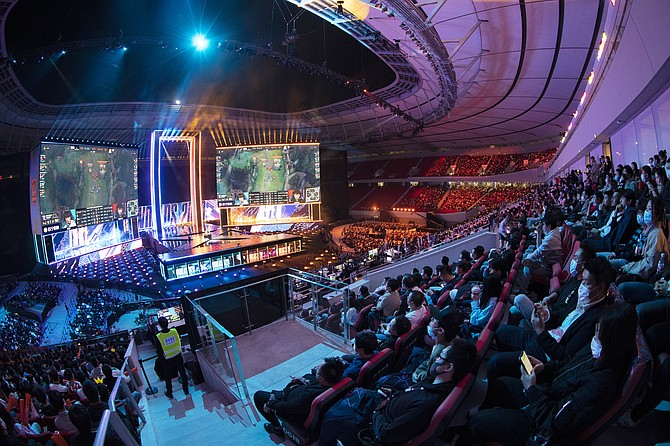 Riot's World Championship event in October in Shanghai.