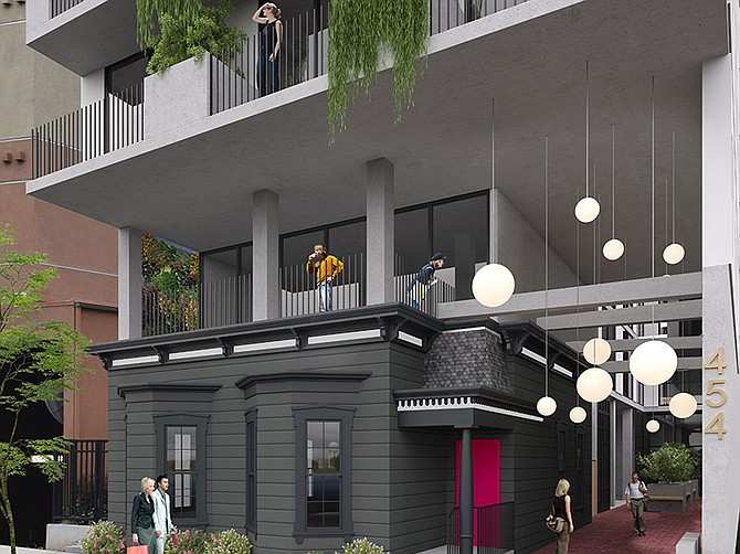 Rendering courtesy of Nakhshab Development & Design. A $12 million East Village apartment will have 46 housing units.