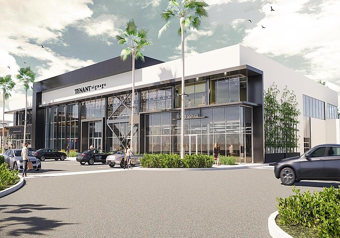 Rendering of 40K-SF creative office concept underway at Park Place