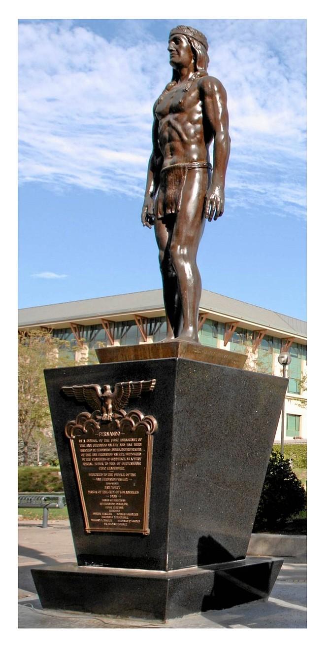 Fernando Awards Foundation statue.