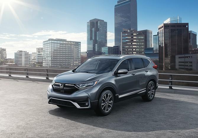 Honda sold more than 300,000 CR-V 'zs last year.
