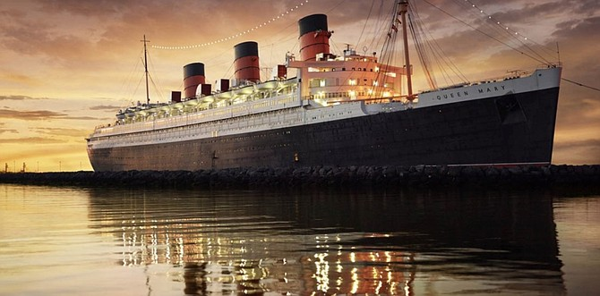 The Queen Mary has been closed since May due to the pandemic.