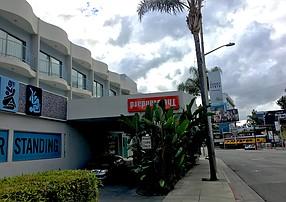 The Standard Hollywood on Sunset Boulevard.