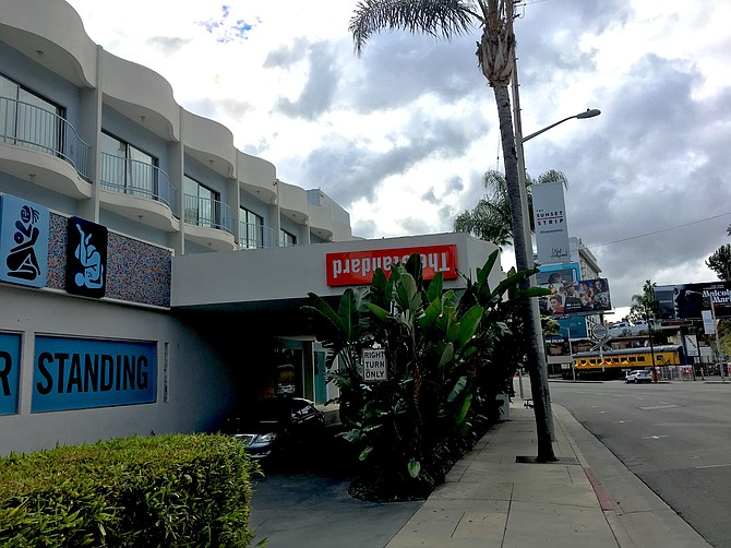 The Standard Hollywood on Sunset Boulevard.