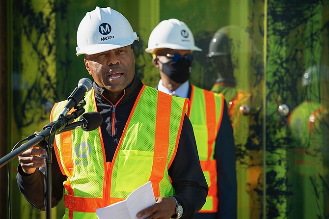 Metro CEO Phillip Washington focused on growing contracts with minority-owned businesses.