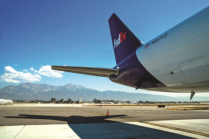 Ontario Airport saw an 18% jump in cargo tonnage in 2020.