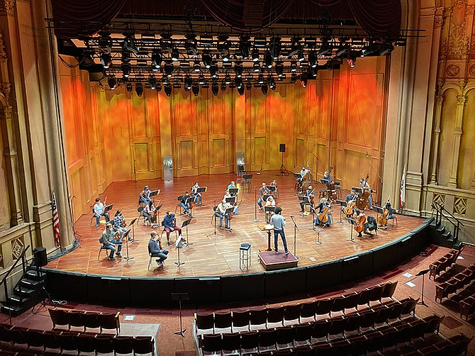 Photo Courtesy of San Diego Symphony Orchestra. The San Diego Symphony Orchestra, which normally hosts productions 32 weeks out of the year, has launched a digital series running through May.