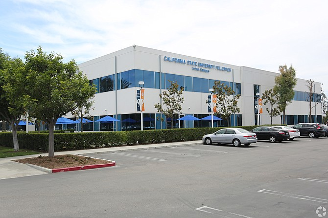 Cal State Fullerton's Irvine Center