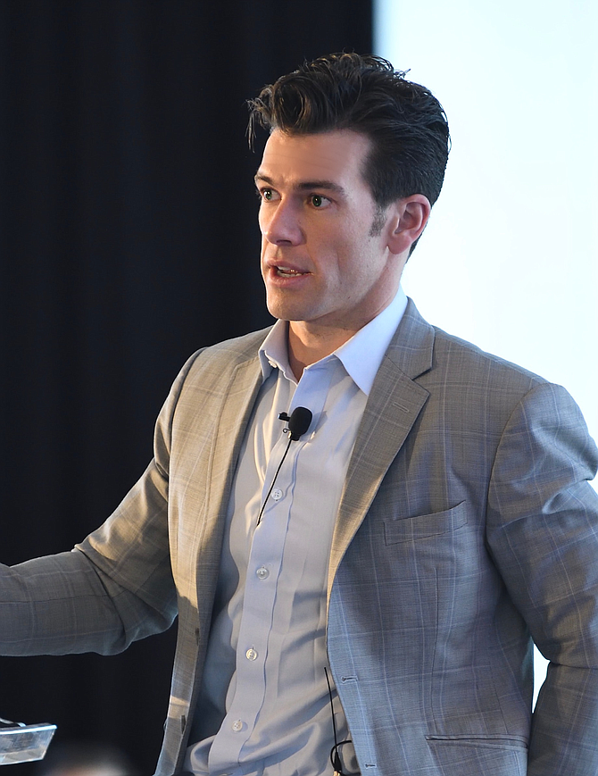 Brendan Wallace, co-founder, managing partner, Fifth Wall Ventures Management.