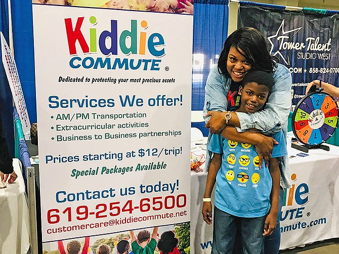 Shan Cureton launched Kiddie Commute in 2017 as a service to transport children.