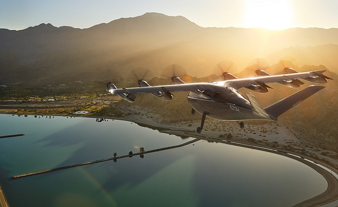 Archer is developing an electric vertical takeoff and landing aircraft for use in urban areas.