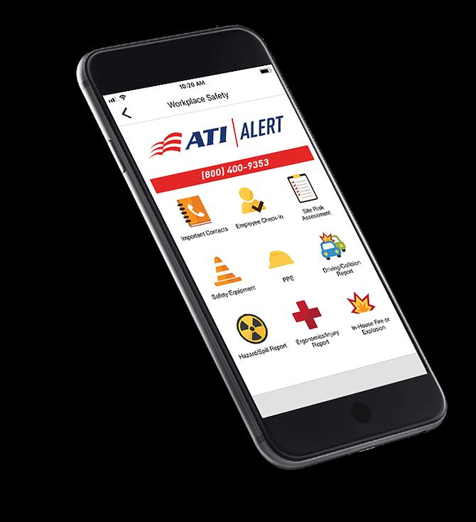 ATI Alert app