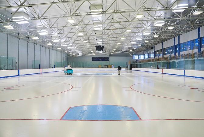 SCV ice rink, 27745 Smyth Drive in Valencia.