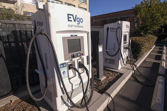 EVgo trails only Tesla and ChargePoint for total number of charging stations nationwide.