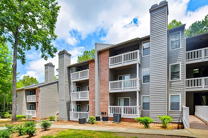 Millbrook Apartments in Raleigh, North Carolina