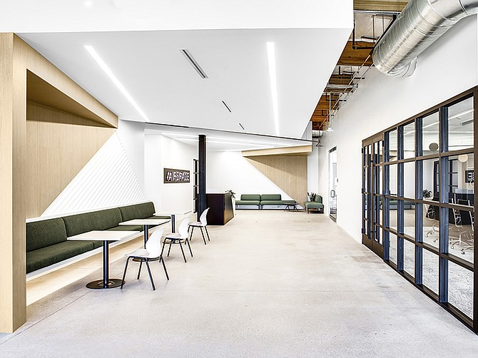 Photo courtesy of Airspace Technologies. In 2020, Airspace remodeled it's main headquarters. The new offices reflect the company's shift towards a more sophisticated and connected environment.