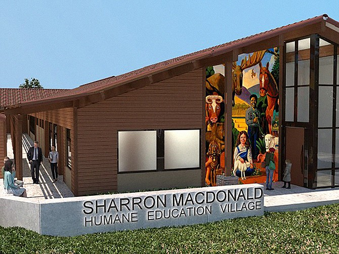 Rendering courtesy of Delawie. The Helen Woodward Animal Center is planning to build a $7.5 million education center on its Rancho Santa Fe campus.