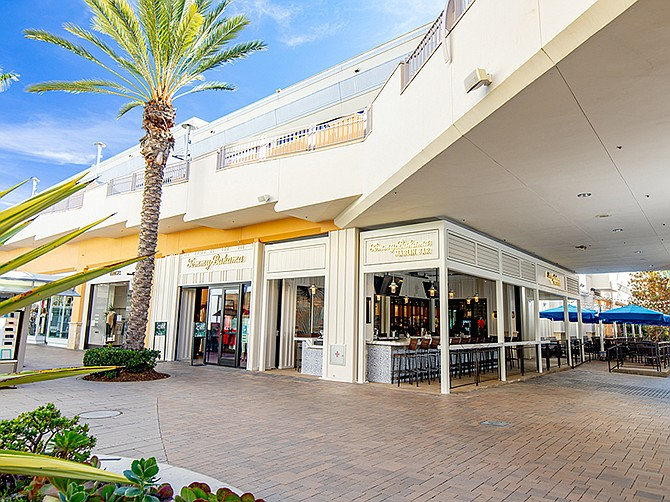 Photo Courtesy of Tommy Bahama. Tommy Bahama has opened its first Tommy Bahama Marlin Bar in Fashion Valley.