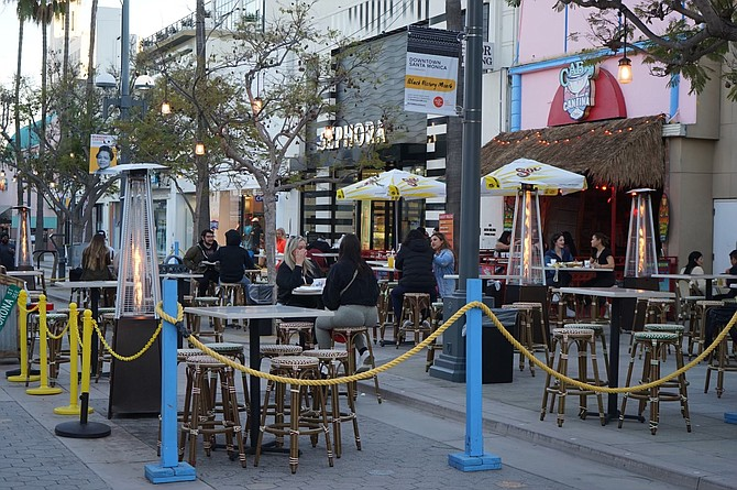 Third Street Promenade launches satellite dinning locations in collaboration with Downtown Santa Monica, Inc.