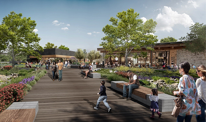 Developer says the design will emphasize a 'communal' atmosphere.