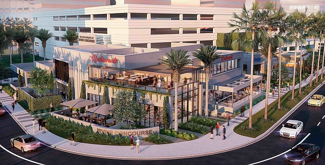 Rendering: new look for an old restaurant site