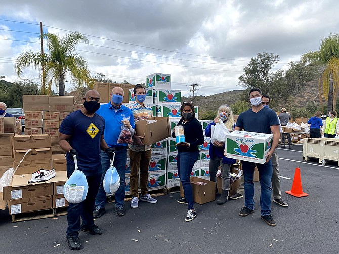 A food distribution event for tourism and hospitality workers is set for the morning of March 12 on Recho Road in the Miramar area. Photo courtesy of the San Diego Tourism Authority.