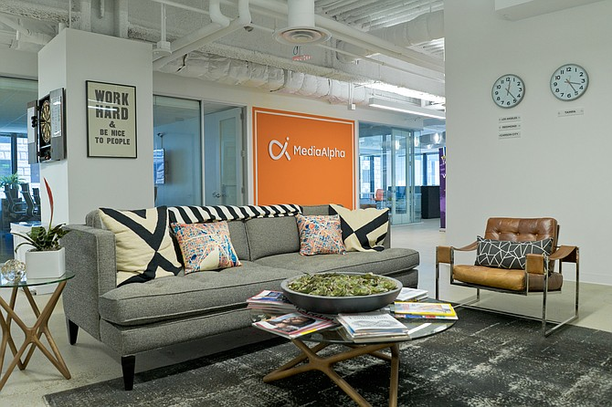 MediaAlpha's downtown offices.