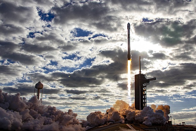SpaceX launched a government payload in December.