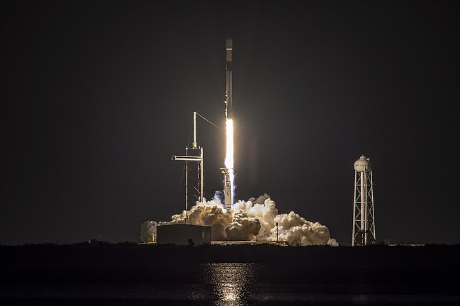 SpaceX launched 60 Starlink satellites from the Kennedy Space Center March 14.