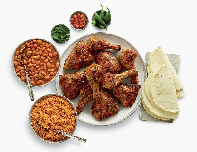10-piece chicken dinner
