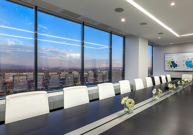 Executive boardroom at Orange Headquarters