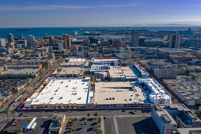 City Place Long Beach spans 14 acres.